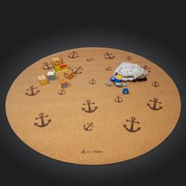 Spielmatte Anker, rund