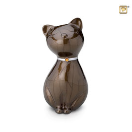 Urne Katze mit Swarowski-Element