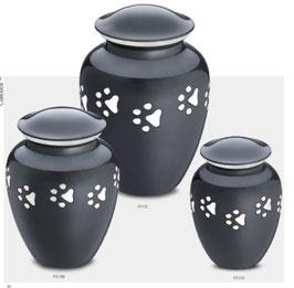 Urne mit Pfoten