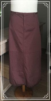 Bordeaux rode lange rok van DIDI - maat 40