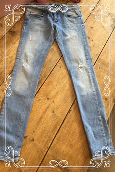 Lichtblauwe spijkerbroek van Anti Jeans - Maat 29