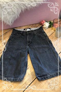 Donkerblauwe korte broek van Levi's - Maat 164