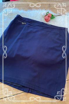 Donkerblauwe rok van het merk Frank Walder - maat 50