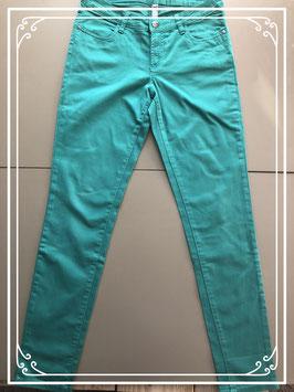 Groene skinny jeans van de HEMA - Maat M