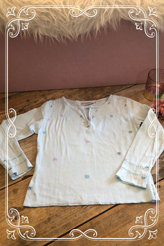 Lichtblauw shirt van het merk KDBS Girls - maat 122-128