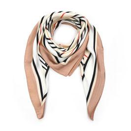 Nieuw: sunset Fashion - Vierkante Sjaal - Camel