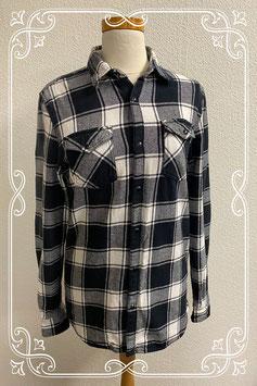 Stoere blouse van RVRSTXX maat M