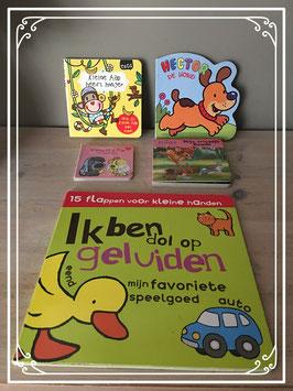 5 kleine dierenboekjes