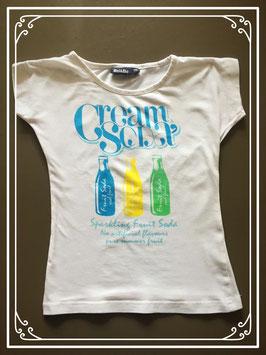 Wit T-shirtje van Bel & Bo - maat 110