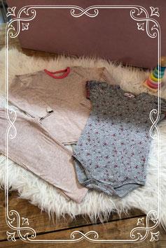 Leuk 3-dellig pyjama setje van de Hema en Prenetal - maat 74