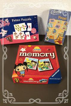 Leuk pakket met Winnie the Pooh Memory - Ni hao Kai Lan Memory en Reken puzzels
