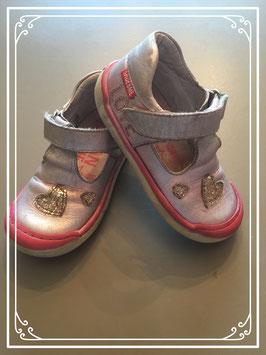 Grijs-roze schoentjes van Shoesme - maat 24