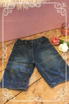 Korte jeans broek van blue seven girls-maat 122