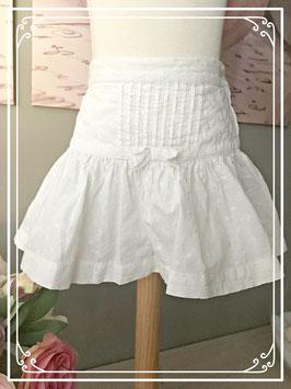 Wit zomers rokje van de H&M - maat 98