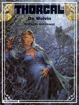 Stripboek Thorgal - de Wolvin
