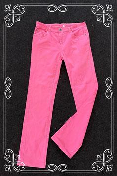 Leuke roze broek in maat 42