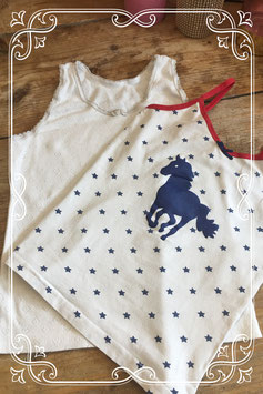 2 hemden van de Hema - Maat 122/128