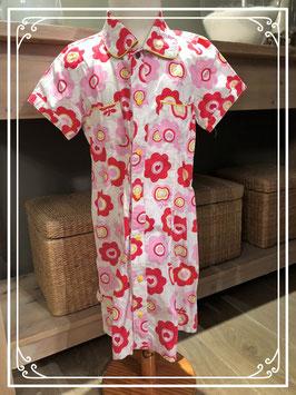 Name-it  blouse jurkje vrolijk gebloemd-maat 134
