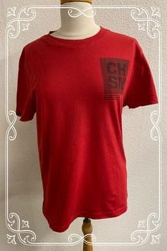 Leuk rood T-shirt van Chasin maat M