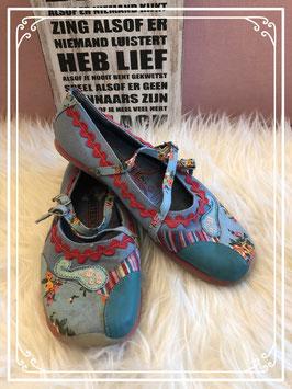 Blauwe NIEUWE sandaaltjes van New8Teen - Maat 35
