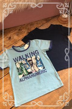 Tweedelige baluwe t-shirt set van Chilong en de H&M - maat 98-104