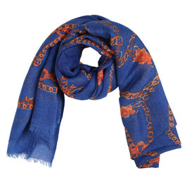 Nieuw: Yehwang - Scarf Chain Party - Blue