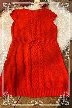 Oranje gehaakte jurk van Mexx - Maat 146/152