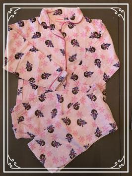 Roze twee-delige pyjama van Nickelodeon - Maat 128-134