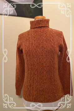 Nieuw! Warme donkere oranje trui van C&A maat S