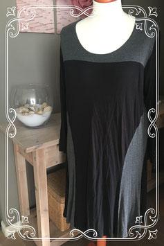 Zwart/grijze jurk van Gets - Maat Xl