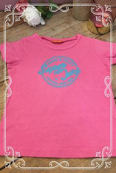 Roze korte mouwen shirt van HEMA - Maat 104