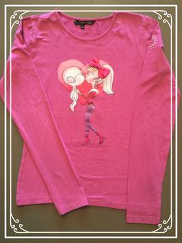 Roze shirt van IAM - maat 164