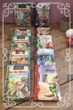 10 boektjes met klassieke kinder verhalen