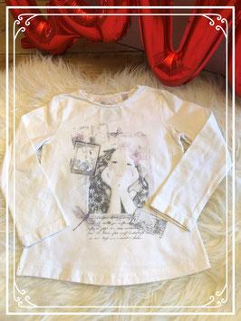 Meisjesshirt met print - maat 98