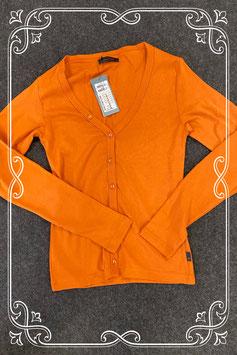 Nieuw! Donker oranje vest van Vero Moda maat M