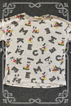 Shirt met Mickey Mouse van Zara Girls maat 152
