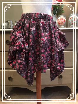Nieuw: roosjes-rok van D-zine - maat 164-170