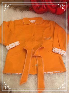 NIEUW Oranje vest aan 2 kanten te dragen van lief! - Maat 86