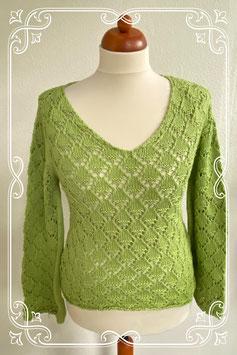 Nieuw! Mooi gehaakte trui van Miss Etam in maat M