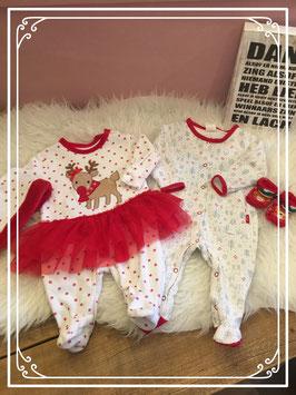 Kerst outfit van de Hema en Primark Maat - 62
