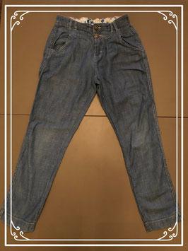 Broek met spijkerstof look van H&M - Maat 140