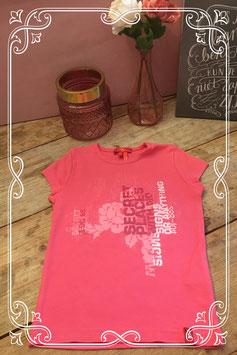 Roze shirtje van het merk EDC youth by Esprit-maat 110-116