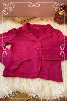 Stoer roze jasje van JILL - Maat 164