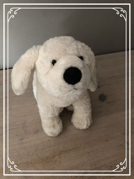 Knuffel hondje blond