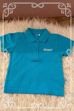 Lichtblauwe polo van het merk Lief! - Maat 68
