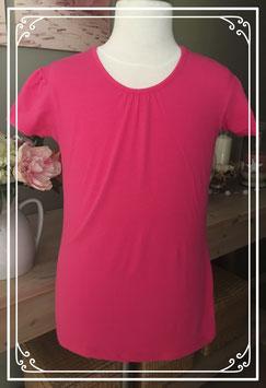 Basic roze shirt van HEMA - Maat 158-164