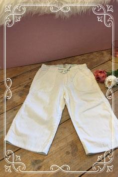 Witte kuitbroek H&M-maat 116