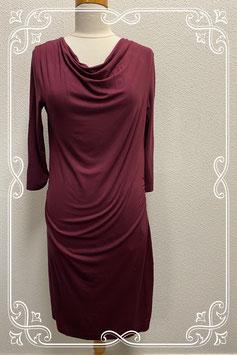Bordeauxrode jurk van s.Oliver maat 40