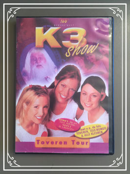 K3 DVD van de Toveren Tour en 4 video clips