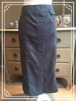 Nieuw: blauwe rok van Frank Walder - maat 42